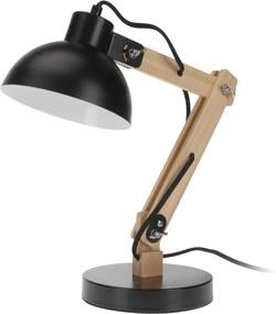 Koopman Stolná lampa Keystone, čierna