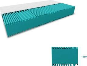 WBTX Penový matrac DELUXE 160x200 cm Ochrana matraca: VRÁTANE chrániča matraca