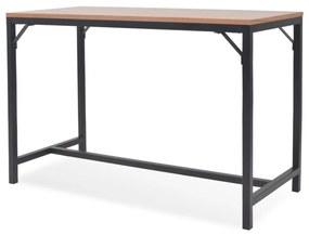vidaXL Prístavný stolík, jaseň, 119x53x79 cm