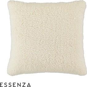 Dekoračný vankúšik Essenza Home Lammy biely bílá