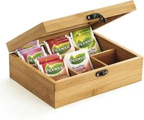 Box na čajové vrecúška