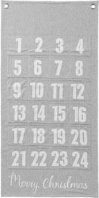 Bloomingville Textilný adventný kalendár