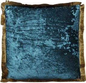 KARE DESIGN Sada 2 ks Dekoratívny vankúš Cannes 45×45 cm modrozelená