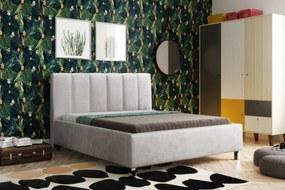 posteľ ĽUBICA I s roštom a úložným priestorom 180x200 cm