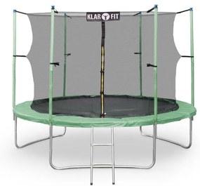 Klarfit Rocketstart XXXL, 400 cm trampolína, bezpeč. sieť