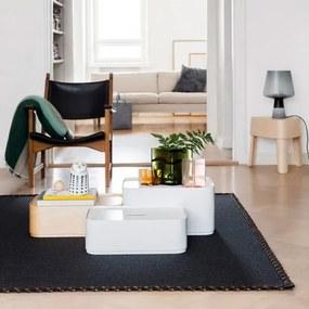 Úložný box Vakka 45x23x30, biely Iittala