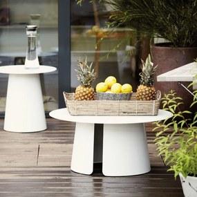 Príručný stôl FEEL | 80 cm » biela