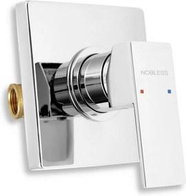 NOVASERVIS NOBLESS EDGE sprchová podomietková batéria chróm 36050,0