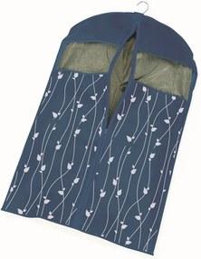 Modrý obal na šaty Cosatto Leaves, délka 100 cm