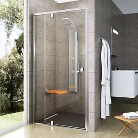 Sprchové dvere 100x190 cm Ravak Pivot chróm matný 03GA0U00Z1