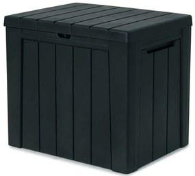 KETER URBAN BOX 113L Záhradný úložný box 59,6 x 46 x 53 cm, antracit 17208013