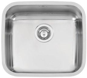 Sinks nerezový drez LAGUNA 490 V trojmontáž leštený