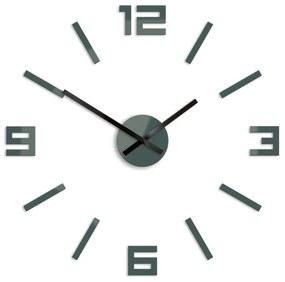 Mazur 3D nalepovací hodiny Reden šedé