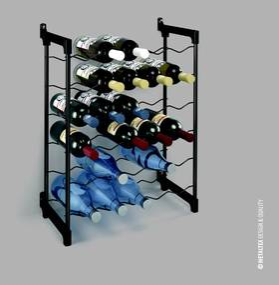 Stojan na víno Metalte× Chianti