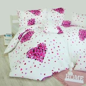Obliečky Romance ružové EMI