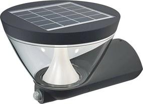 Osram Osram - LED Solárne nástenné svietidlo so senzorom ENDURA 1xLED/6,5W/230V IP44 P2609