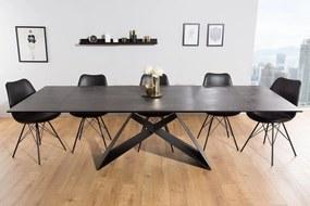 Rozkladací jedálenský stôl Brock láva 180-260 cm