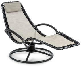 The Chiller, hojdacie ležadlo, 77 x 85 x 173 cm, 360 Comfort, ComfortMesh, béžové