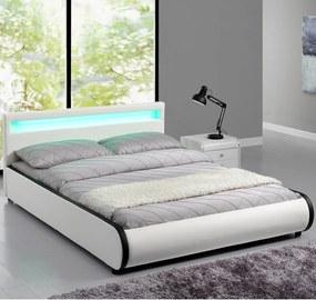 Čalúnená posteľ Sevilla 180 x 200 cm - biela