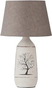 Rábalux Dora 4374 Nočná stolová lampa biely keramika E27 MAX 40W IP20