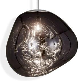 Tom Dixon Melt závesná lampa dymovosivá, Ø 50 cm