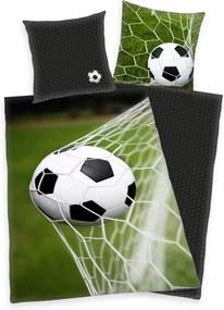 Herding Bavlnené obliečky Futbal, 140 x 200 cm, 70 x 90 cm