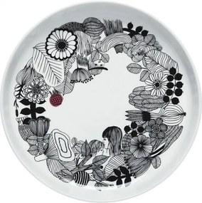 Servírovací tanier Oiva Siirtolapuutarha 32cm Marimekko