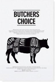 TAFELGUT Plagát Butchers choice 30x42 cm