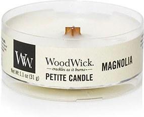 WoodWick Vonná sviečka WoodWick Petite - Magnolia 31 g