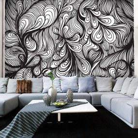 Fototapeta - Black and white retro style 400x309