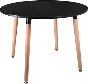 TZB Konferenčný stolík Paris 100 cm - čierny