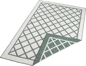 Bougari - Hanse Home koberce Kusový koberec Twin Supreme 103427 Sydney green creme - 80x150 cm