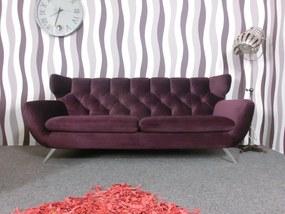 (2313) SIXTY luxusná pohovka fialová