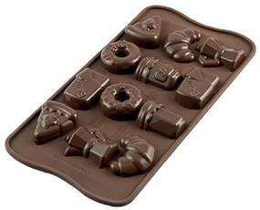 Silikomart forma na čokoládu GOOD MORNING, SCG22