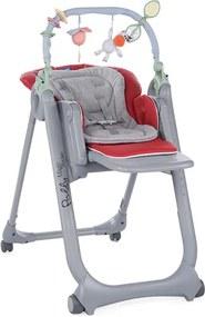 CHICCO Detská jedálenská stolička Polly Magic Relax - Red