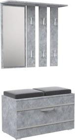 Shoptop Předsíňová stěna OPAL II beton