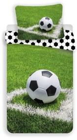 JERRY FABRICS Obliečky Futbal rohový kop Bavlna, 140/200, 70/90 cm