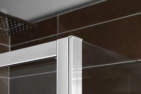 POLYSAN - DEEP sprchové dvere posuvné 1400x1500mm, číre sklo (MD1415)