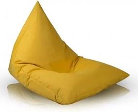 Ecopuf Sedací vak Ecopuf - Lazy L polyester NC4 - Žltá