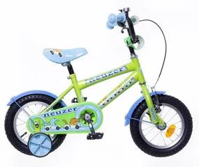 "Neuzer 12"" Detský bicykel pre chlapcov BMX WILDWAGON zelená 2018"