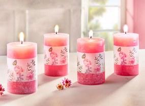 Voskové sviečky Romance, 4 ks