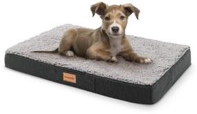 Balu, pelech pre psa, vankúš pre psa, možnosť prania, ortopedický, protišmykový, priedušná pamäťová pena, veľkosť S (72 × 8 × 50 cm)