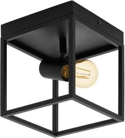 Eglo 98331 SILENTINA Stropné svietidlo E27 1X40W čierna