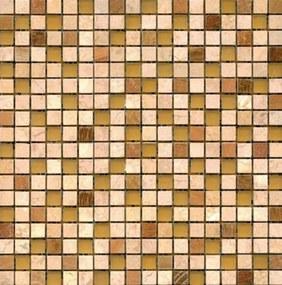 Kamenná mozaika Premium Mosaic Stone béžová 30x30 cm mat STMOS15MIX2