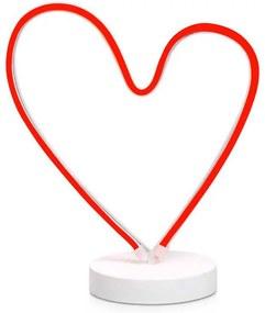 Markslojd DEKORÁCIA VEGAS LED tube Heart Table decoration 704464