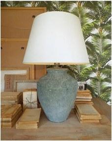 Keramická stolová lampa Orchidea Milano Saint Tropes Greenish Grey, ⌀ 50 cm