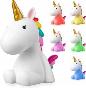 Vulpi Nočna lampička pre deti LED Magic Unicorn