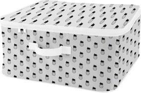 Úložný box so zipsom a so vzormi ananásov Compactor