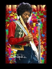 3D Plagát na stenu Jimi Hendrix 0119