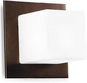 Kúpeľňové svietidlo LINEA Cubic Brown 6414